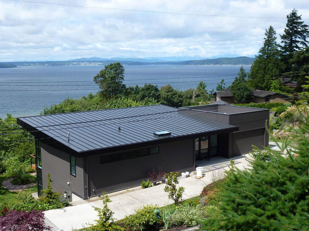 Standing Seam Metal Roof, West Seattle   European Roofing U0026 Sheet Metal LLC