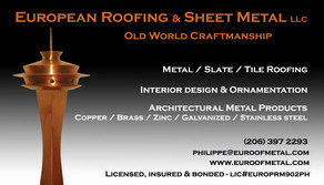 Copper Bay Window Snohomish European Roofing Amp Sheet